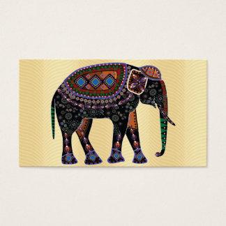 Ornate Elephant Business Card