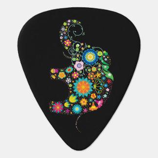 Ornate Elephant Guitar Pick