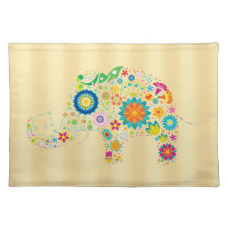 Ornate Elephant Placemat