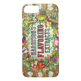 Ornate Extract Advertisement 1853 iPhone 8/7 Case