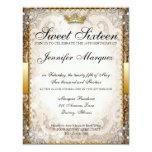 """Ornate Fairytale Storybook Sweet Sixteen Invites 4.25"""" X 5.5"""" Invitation Card"""