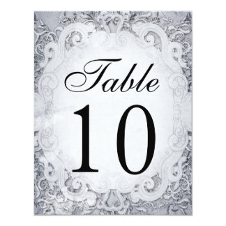 Ornate Fairytale Storybook Table Number Cards
