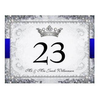 Ornate Fairytale Wedding Table Number Cards
