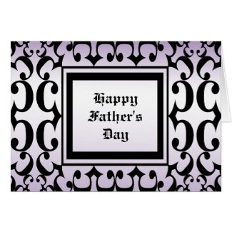 Ornate Fathers Day Card