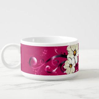 Ornate Floral Flourish | fuchsia Chili Bowl