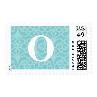Ornate Floral Monogram - Letter O Postage