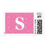 Ornate Floral Monogram - Letter S Postage