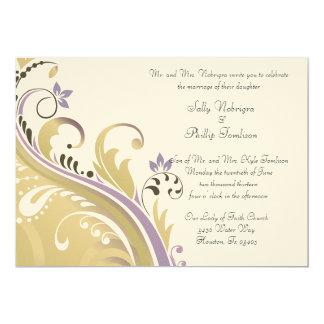 Ornate Floral Pattern Invitations