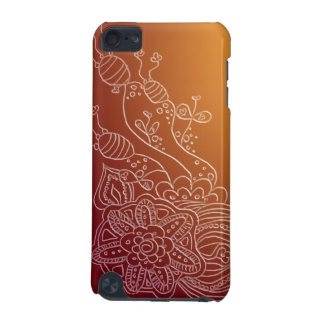 Ornate flower henna style design case iPod touch (5th generation) cases