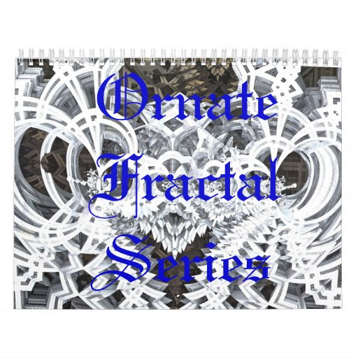 Ornate Fractal Series Calendar