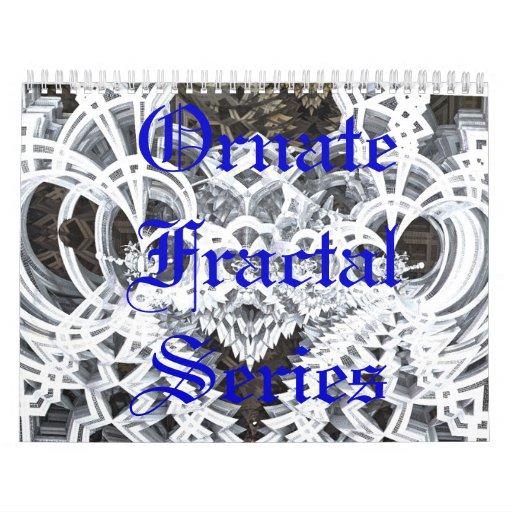 Ornate Fractal Series Calendar