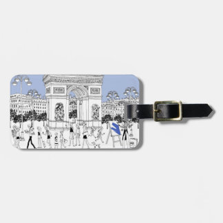 Ornate Gate Tag For Bags