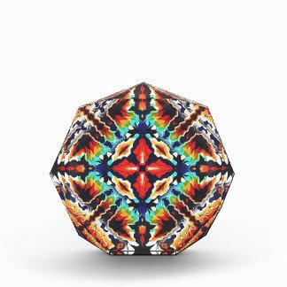 Ornate Geometric Colors Acrylic Award