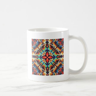 Ornate Geometric Colors Coffee Mug