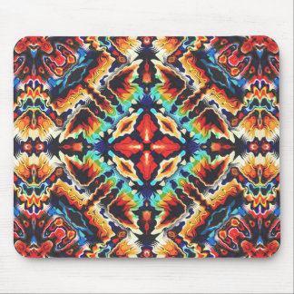 Ornate Geometric Colors Mouse Pad