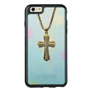 Ornate Gold Cross and Chain OtterBox iPhone 6/6s Plus Case