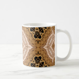 Ornate Golden Coffee Mug