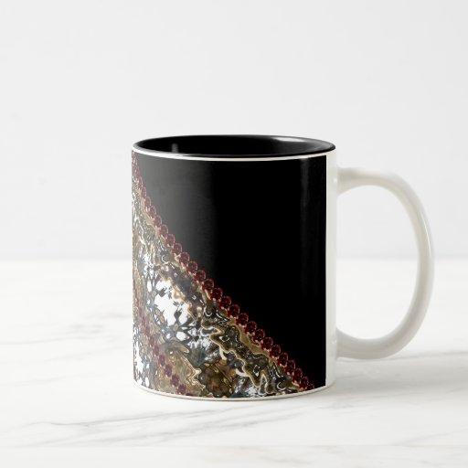 Ornate Goth Steampunk Victorian Elegant Mugs