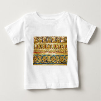 Ornate hand crafted Thai ceramics Baby T-Shirt