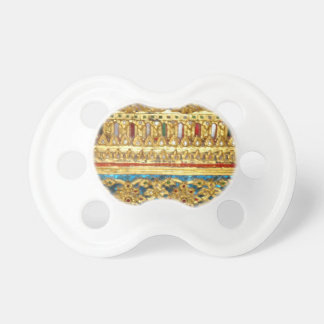 Ornate hand crafted Thai ceramics Pacifiers