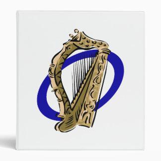 Ornate harp graphic blue ring.png binder