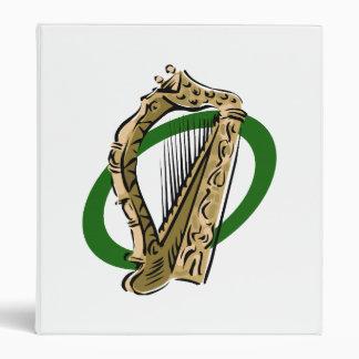 Ornate harp graphic green ring.png binder