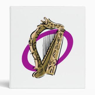 Ornate harp graphic purple ring.png binder