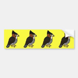 Ornate Hawk-Eagle Bumper Sticker