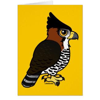 Ornate Hawk-Eagle Card