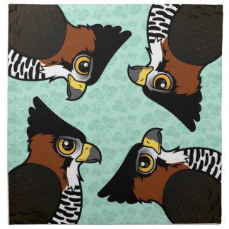 Ornate Hawk-Eagle Cloth Napkin