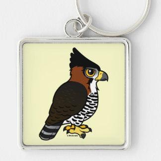 Ornate Hawk-Eagle Keychain
