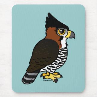 Ornate Hawk-Eagle Mouse Pad