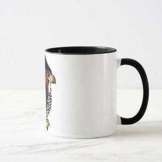 Ornate Hawk-Eagle Mug
