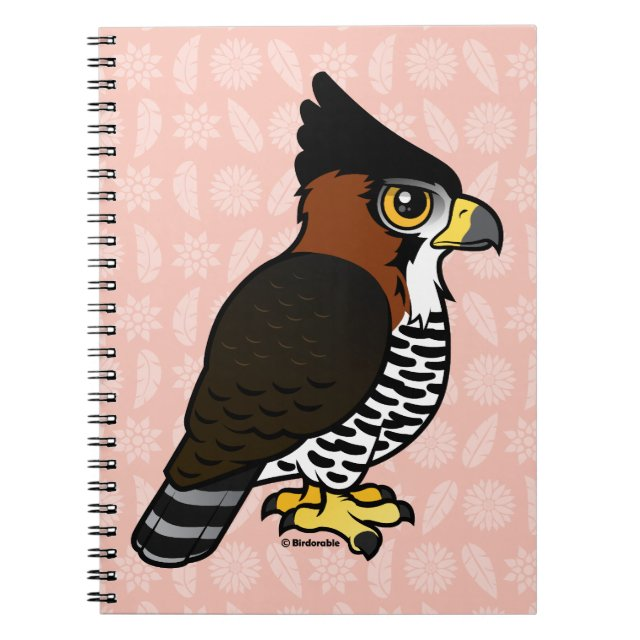 Ornate Hawk-Eagle Photo Notebook (6.5\
