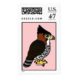 Ornate Hawk-Eagle Postage