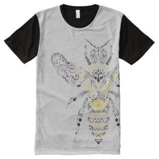 ornate honey bee All-Over-Print shirt