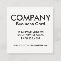 ornate honey bee square business card