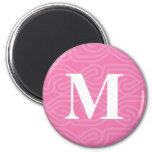 Ornate Knotwork Monogram - Letter M Magnet