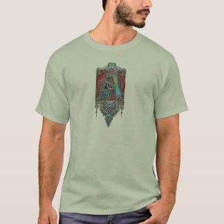 Ornate Letter A Monogram T-Shirt