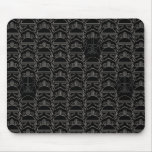Ornate Lines Darth Vader and Stormtrooper Pattern Mouse Pad