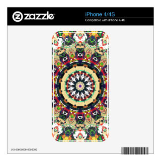 Ornate Mandala Design Decal For The iPhone 4S