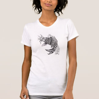 Ornate Mandala Style Koi Design - TShirt