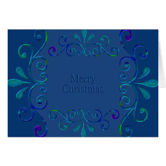 Ornate Merry Christmas! Card