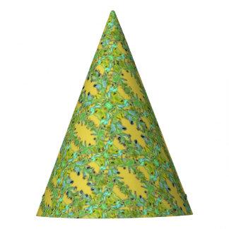 Ornate Modern Noveau Party Hat