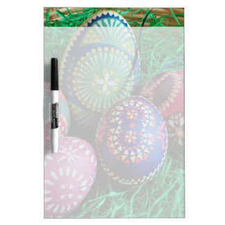 Ornate Painted Easter Eggs Dry-Erase Boards