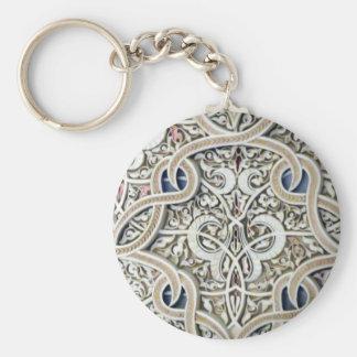 Ornate Pattern Keychain