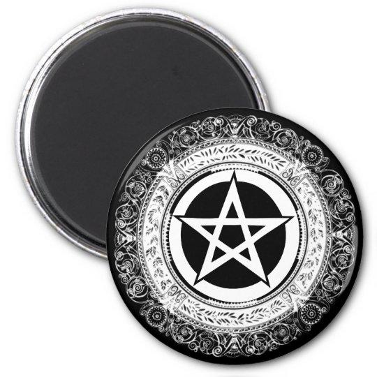 Ornate Pentacle Magnet