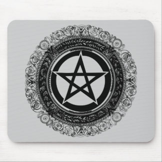 Ornate Pentacle Mouse Pad
