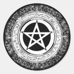 Ornate Pentacle Sticker