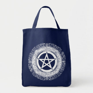 Ornate Pentacle Tote Bag